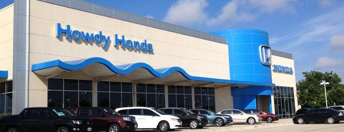 Howdy Honda is one of Tempat yang Disukai Shelly.