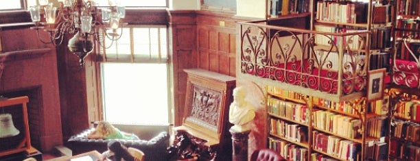 """A.D. White """"Harry Potter"""" Library is one of Alyssa's Ithaca visit."""
