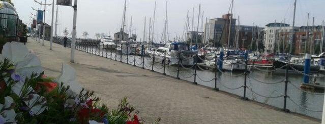 Hull Marina is one of สถานที่ที่ Carl ถูกใจ.