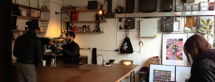 Protein by Dunne Frankowski is one of Great Independent Coffee Shops in London.