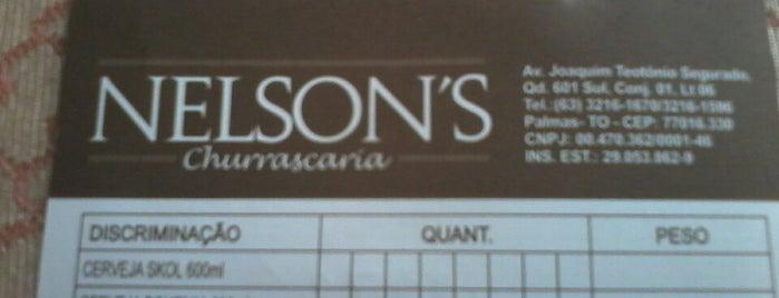 Nelson's Churrascaria is one of สถานที่ที่ Osvaldo ถูกใจ.
