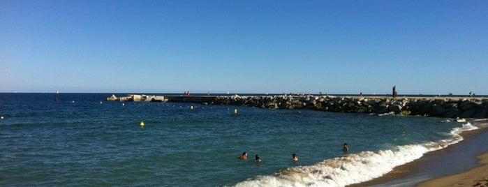 Playa de la Mar Bella is one of Playas de España: Cataluña.