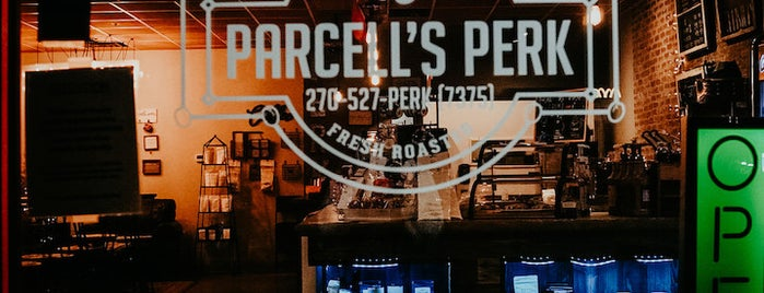 Parcell's Perk Coffee Shop & Bakery is one of Lieux qui ont plu à Channing.