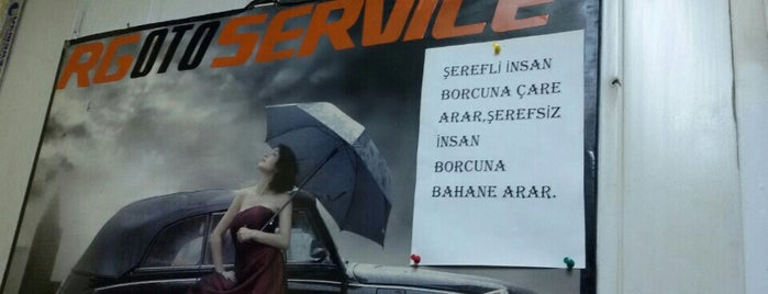 R-G OTOMOTİV OTO ÖZEL SERVİS is one of Anıl : понравившиеся места.