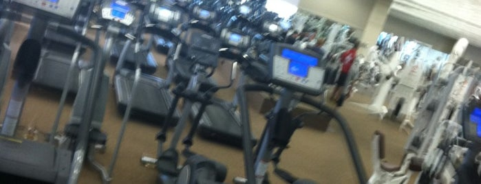 Life Time Fitness is one of Favorites.