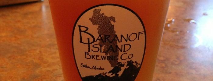 Baranof Island Brewing is one of Alaska cruising.