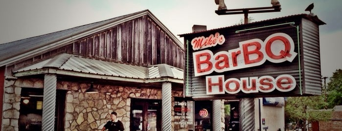Mike's Barbeque House is one of Cynthia 님이 좋아한 장소.