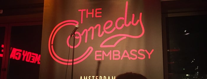 Comedy Café is one of New Amsterdam.