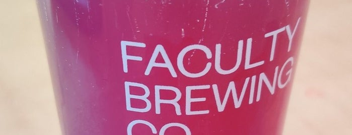 Faculty Brewing Co. is one of Nick's Liked Places.