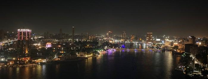 Grand Nile Tower Hotel is one of Yunus : понравившиеся места.