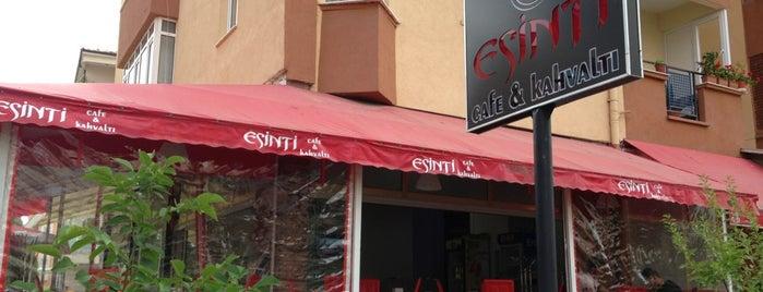 Esinti Cafe & Kahvaltı is one of Gidilecek yerler.