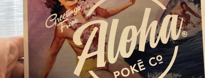 Aloha Poke Co. is one of D.C..