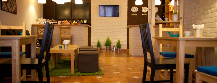 Yard Hostel & Coffee Shop is one of Черновцы.