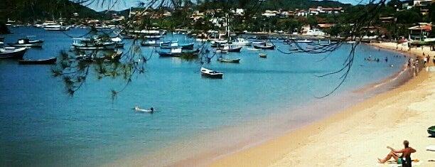 Praia do Canto is one of Búzios RJ.