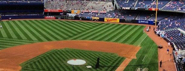 Yankee Stadium is one of MLB Ballparks.