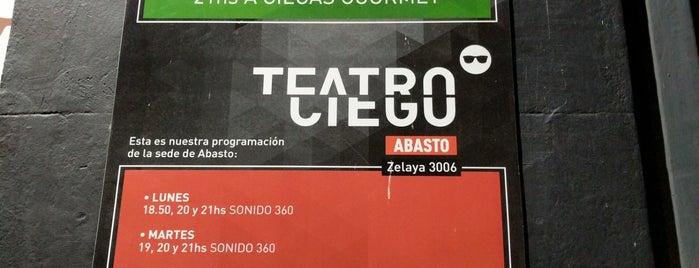 Teatro Ciego is one of Tempat yang Disukai Alejandro.