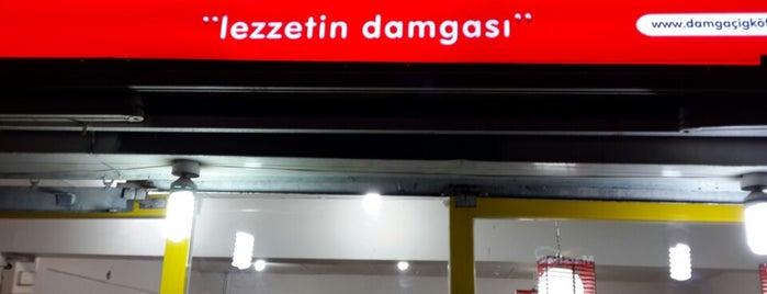 Damga Çiğ Köfte is one of Locais curtidos por Sultan.