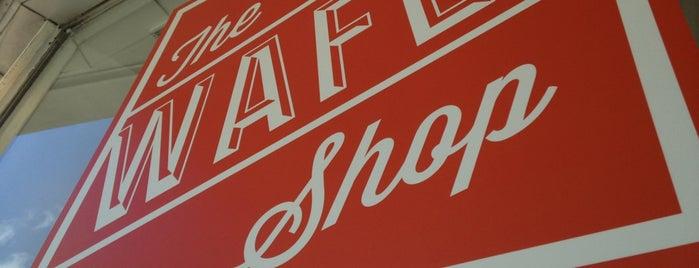 The Wafel Shop is one of สถานที่ที่ M. Wayne ถูกใจ.