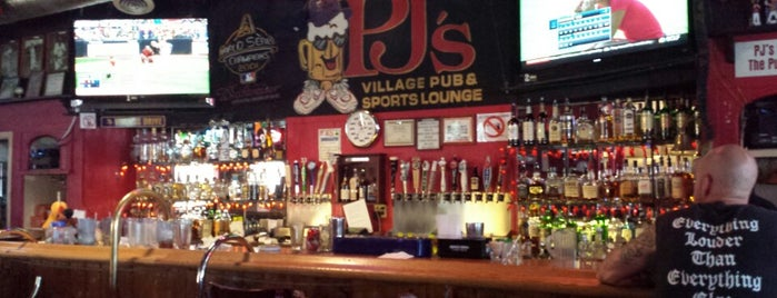 PJ's Pub & Sports Lounge is one of Village of Oak Creek.