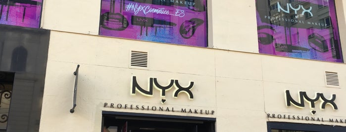 NYX Professional Makeup is one of สถานที่ที่ Miguel ถูกใจ.