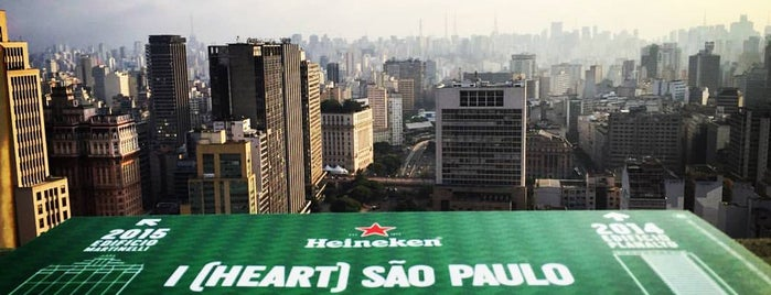 Heineken Up on the Roof is one of Brazil.
