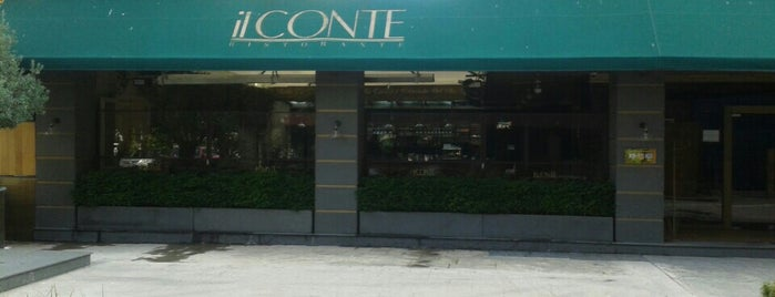 il CONTE Ristorante is one of İstanbul.