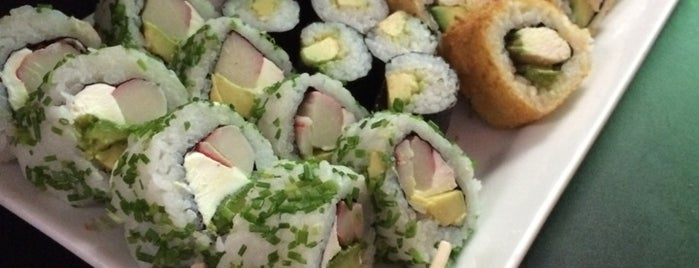 Akami Sushi is one of Arthur's Great Place To Eat.