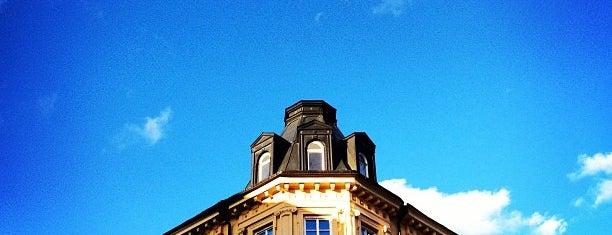 Vasastan is one of Stockholm.