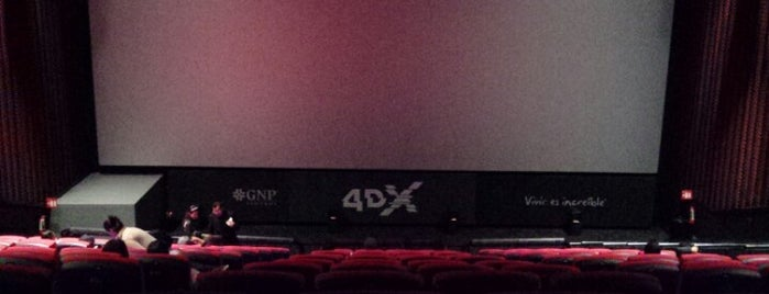 Cinépolis 4DX is one of Lugares favoritos de Marco.