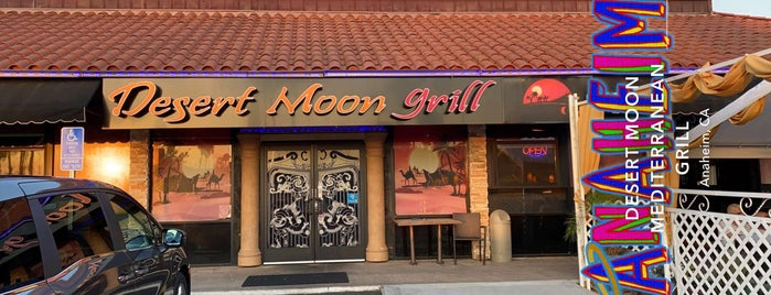 Dessert Moon Grill is one of Orange County.