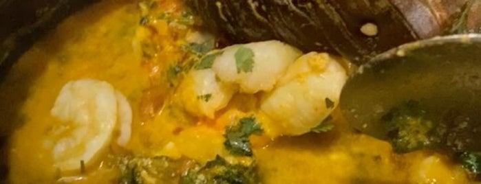 Moqueca Brazilian Restaurant is one of Lugares guardados de Justin.