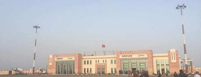 Dakhla Airport is one of Lieux sauvegardés par JRA.