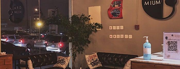 Gramium Cafe is one of Lugares guardados de Queen.