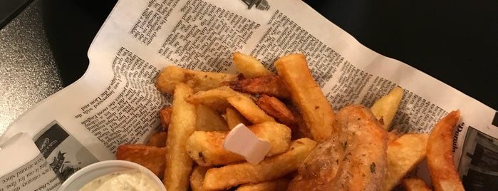 Brit & Chips is one of **Montréal**.