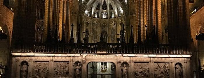 Catedral de la Santa Creu i Santa Eulàlia is one of สถานที่ที่ Mehmet ถูกใจ.