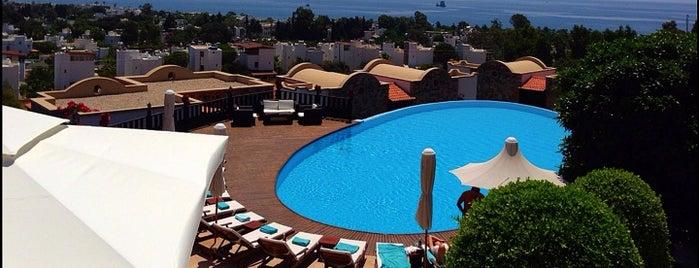 Temenos Hotel Bodrum is one of BDRM.