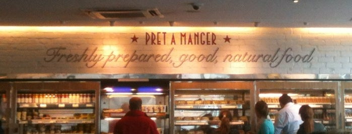 Pret A Manger is one of Vassilena's Liked Places.
