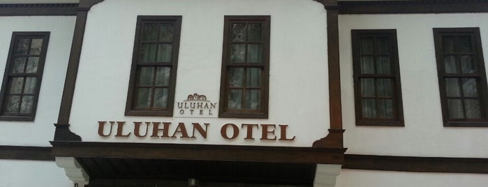 Uluhan Otel & Restaurant is one of burcu aybike : понравившиеся места.