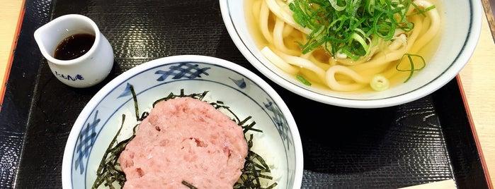 本場讃岐うどん たもん庵 さんちか店 is one of Must-visit Food in 神戸市中央区.