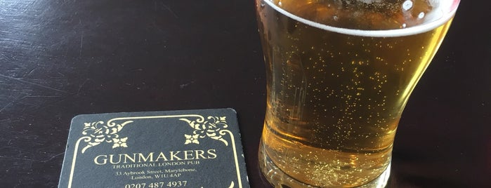 The Gunmakers is one of Good Beer Pubs.