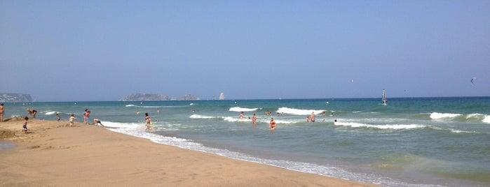 Platja de la Fonollera is one of Playas de España: Cataluña.