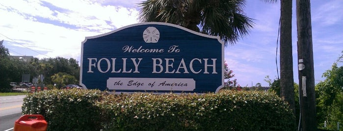Folly Beach is one of Charleston.