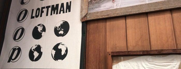 LOFTMAN  B.D. is one of Japan 2017.