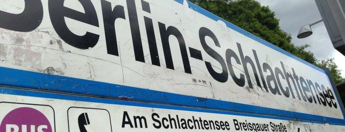 S Schlachtensee is one of U & S Bahnen Berlin by. RayJay.