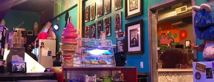 mr kream ice cream shop is one of florida.