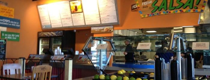 Rubio's Coastal Grill is one of Lugares favoritos de Alec.