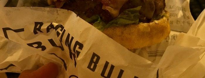 Raging Bull Burgers is one of Orte, die Shank gefallen.