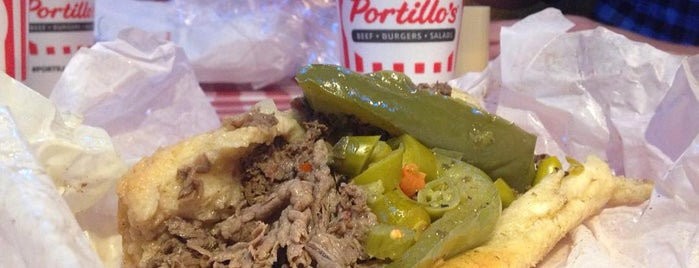 Portillo's is one of 15 Bucket List Sandwiches in Chicago.