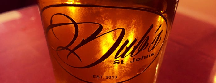 Dub's St. Johns is one of PDX to-do.