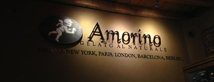 Amorino is one of Oriettaさんのお気に入りスポット.